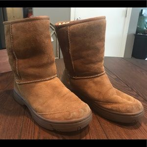 UGG Australia Sheepskin Hard Sole Boots